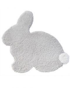 Hoppi Rabbit Silver Grey