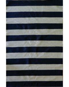 Stripe Flat Weave Grey