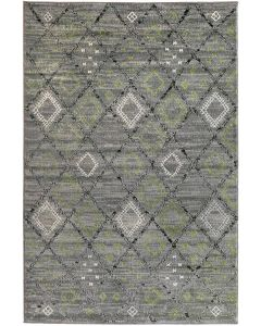 Carnival 614567 Grey Blue Runner
