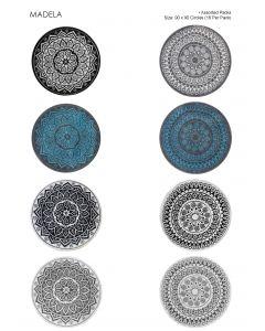 Studio 90 x 90 Circle Assorted